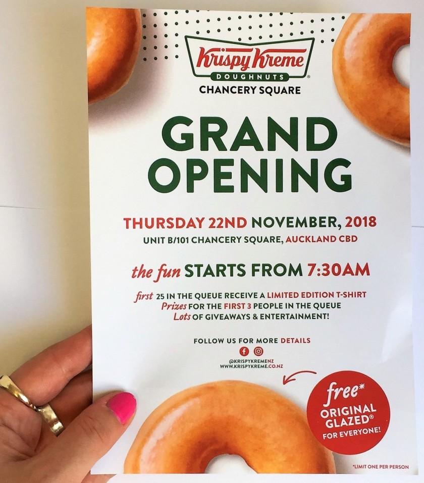 Krispy Kreme Chancery Square | georgieats